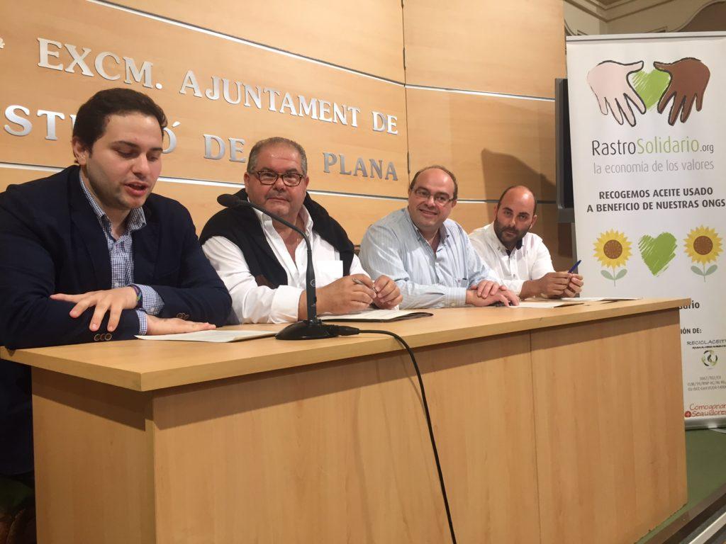 Recogida de aceite usado en Castellón