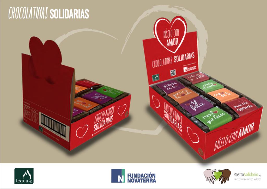 Presentación de Chocolatinas Solidarias