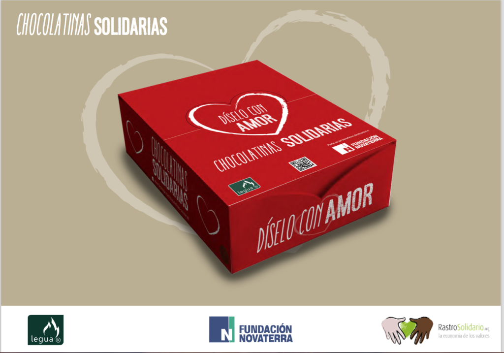 Packagin Chocolatinas Solidarias