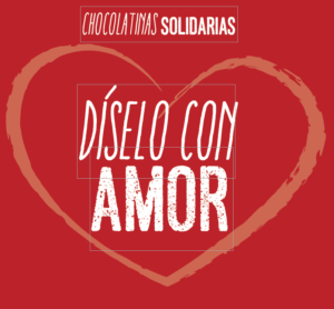 Chocolatinas Solidarias. Díselo con Amor