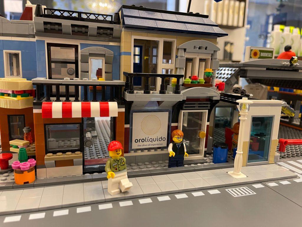 diorama de LEGO